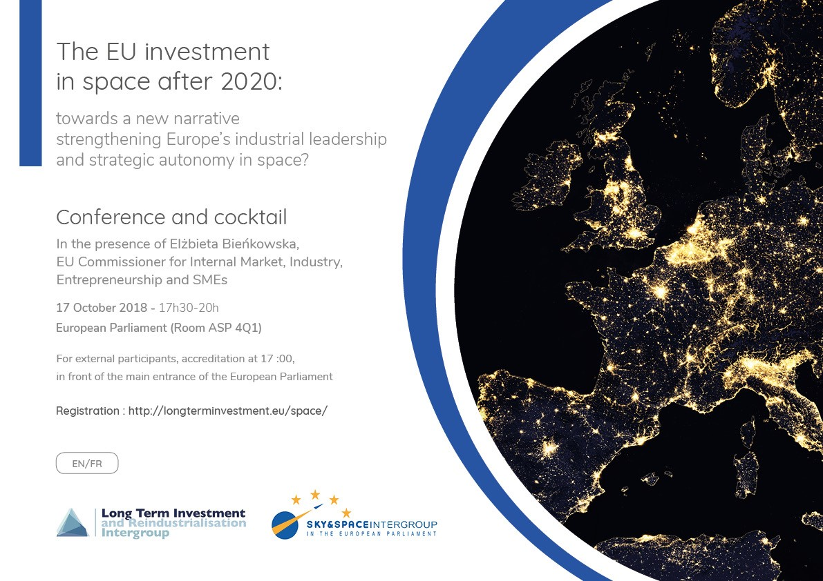 EU Investment in Space after 2020