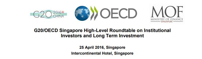 G20.OECD HL Roundtable for LTInvestment